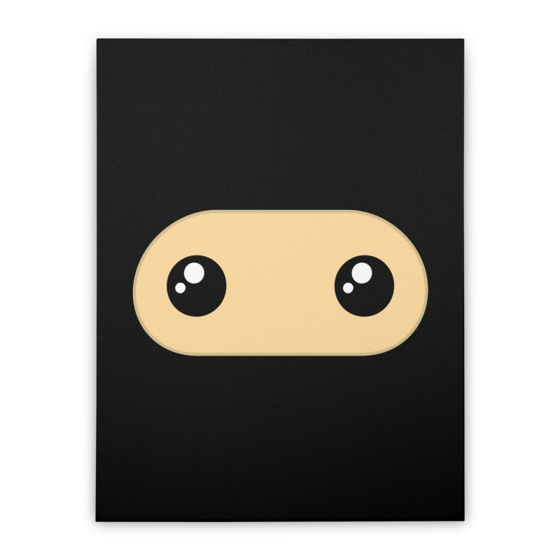 Just the Mask Home Stretched Canvas by Shawnimals