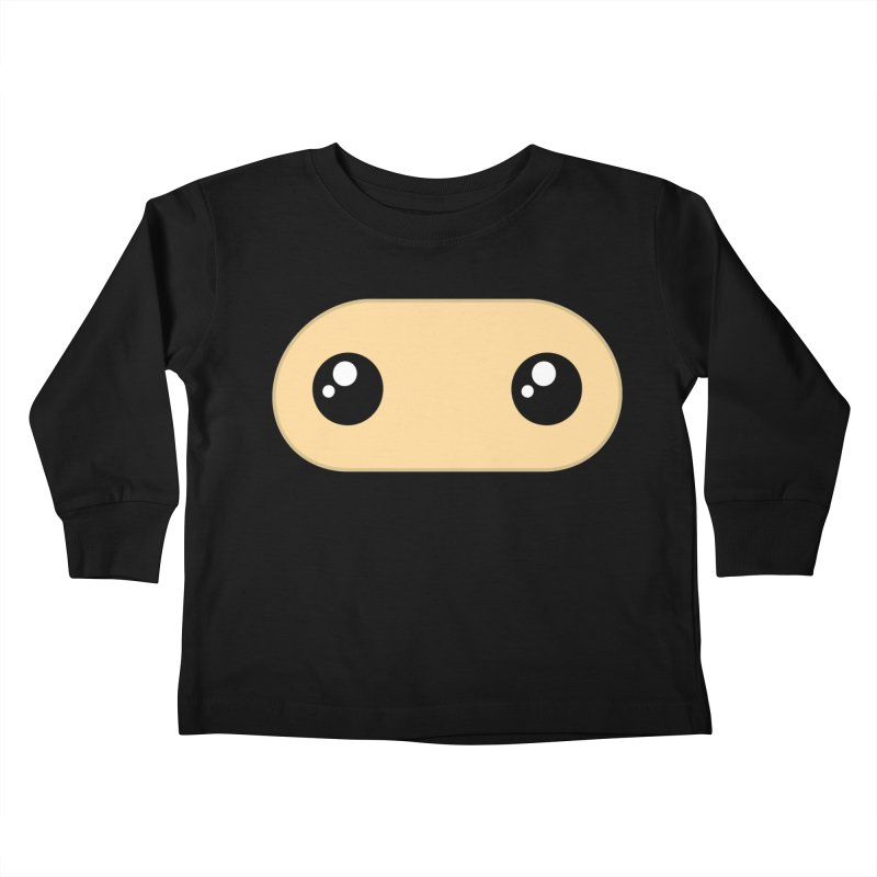Just the Mask Kiddos Toddler Longsleeve T-Shirt by Shawnimals