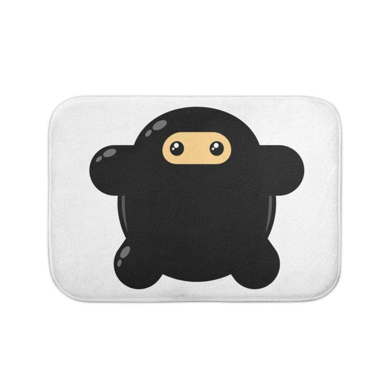 Notso Wee Ninja Home Bath Mat by Shawnimals