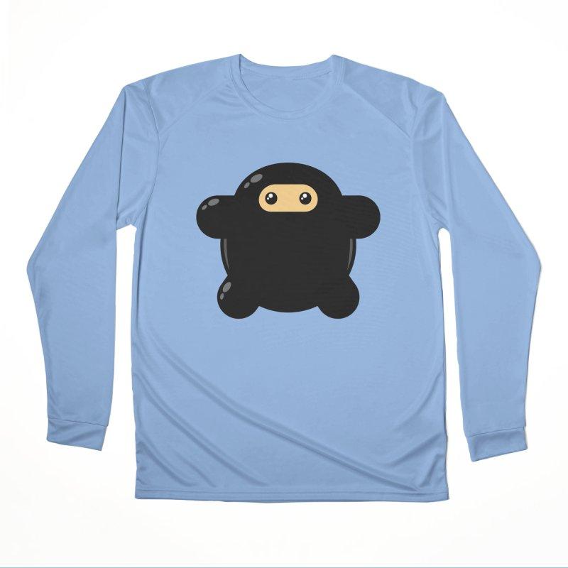 Notso Wee Ninja Men's Longsleeve T-Shirt by Shawnimals