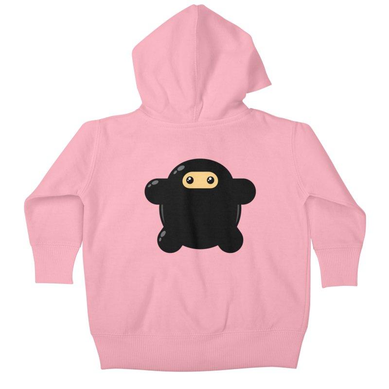 Notso Wee Ninja Kiddos Baby Zip-Up Hoody by Shawnimals