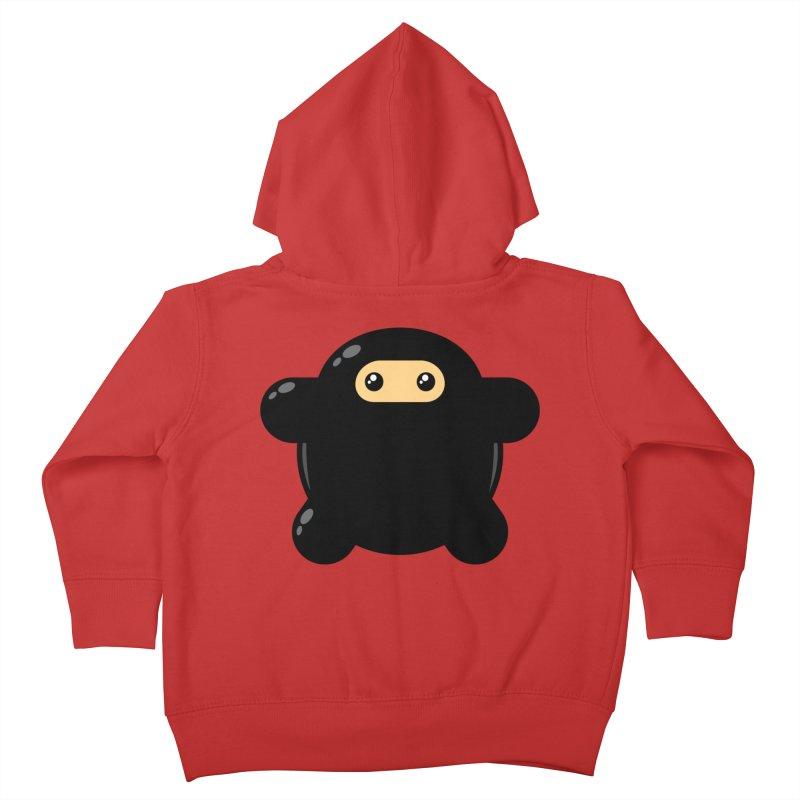 Notso Wee Ninja Kiddos Toddler Zip-Up Hoody by Shawnimals