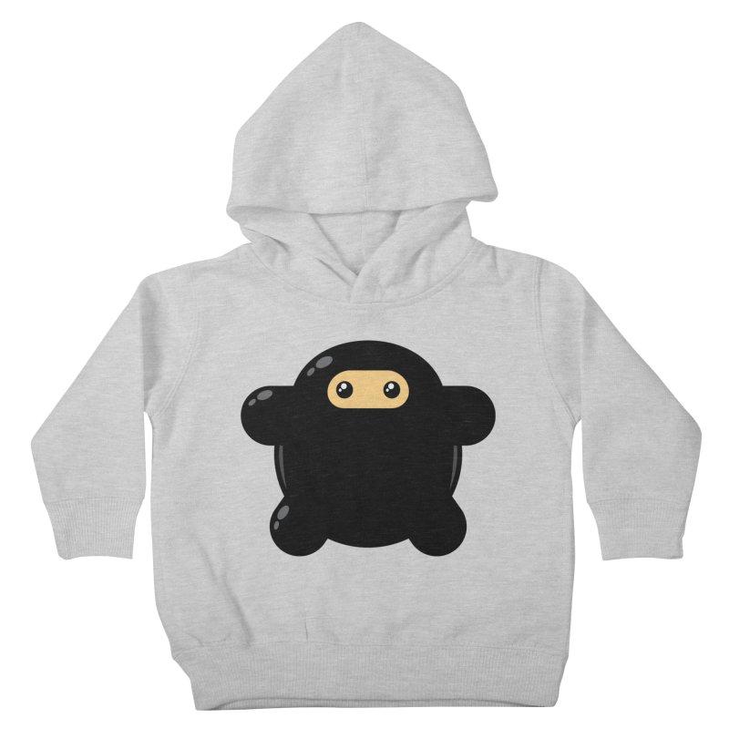 Notso Wee Ninja Kiddos Toddler Pullover Hoody by Shawnimals