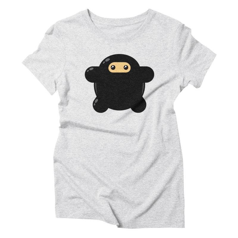 Notso Wee Ninja Feminine T-Shirt by Shawnimals