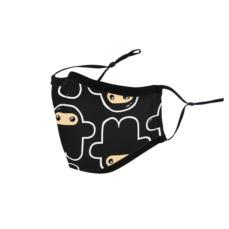 Structured Ninjas Accessories Face Mask by Shawnimals