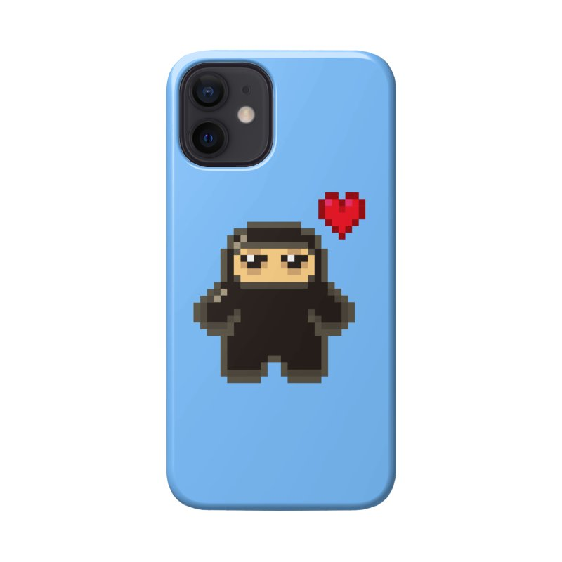 Pixel Ninja Love Accessories Phone Case by Shawnimals