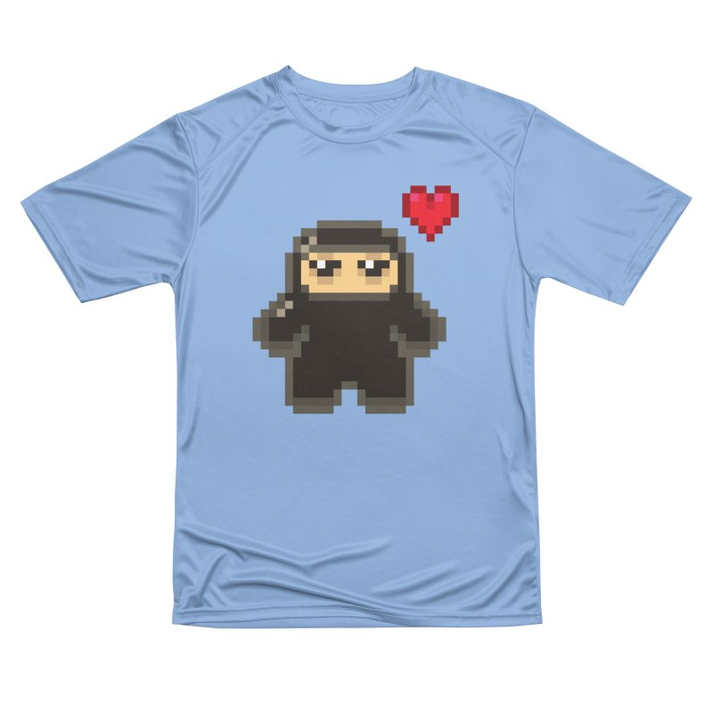 Pixel Ninja Love Feminine T-Shirt by Shawnimals