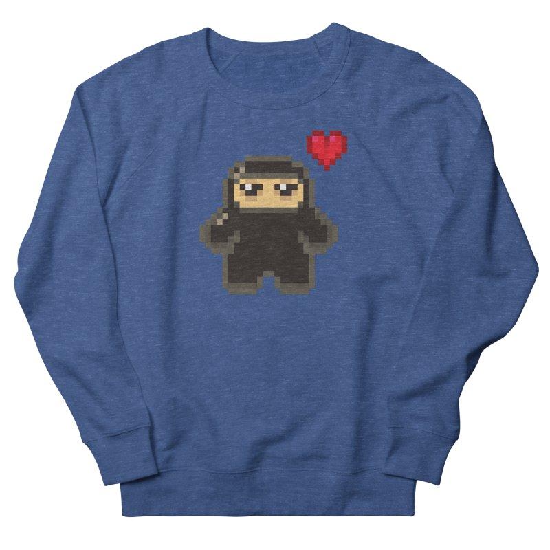 Pixel Ninja Love Masculine Sweatshirt by Shawnimals