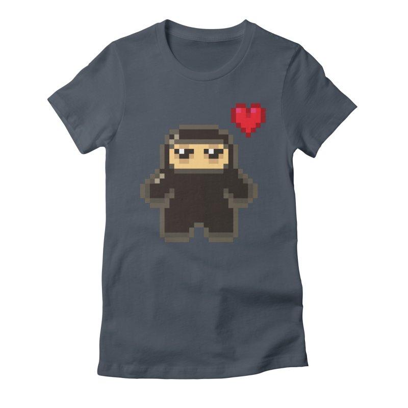 Pixel Ninja Love Women's T-Shirt by Shawnimals