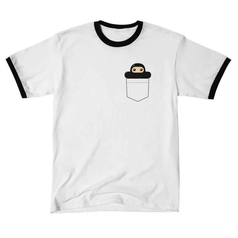 Pocket Ninja Feminine T-Shirt by Shawnimals