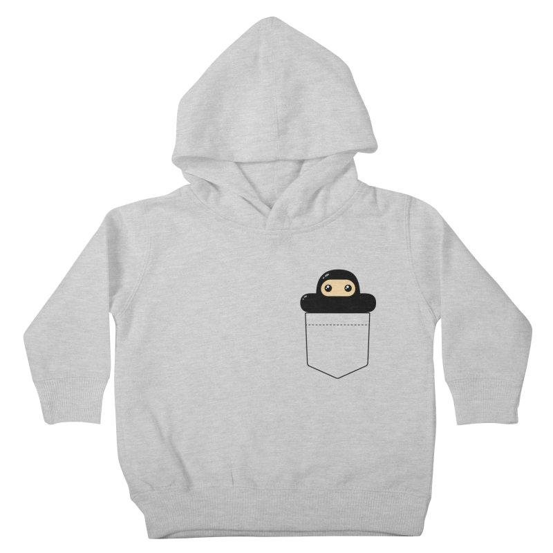 Pocket Ninja Kiddos Toddler Pullover Hoody by Shawnimals