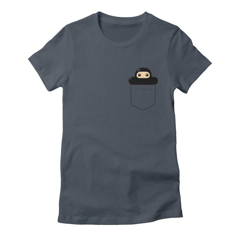 Pocket Ninja Women's T-Shirt by Shawnimals