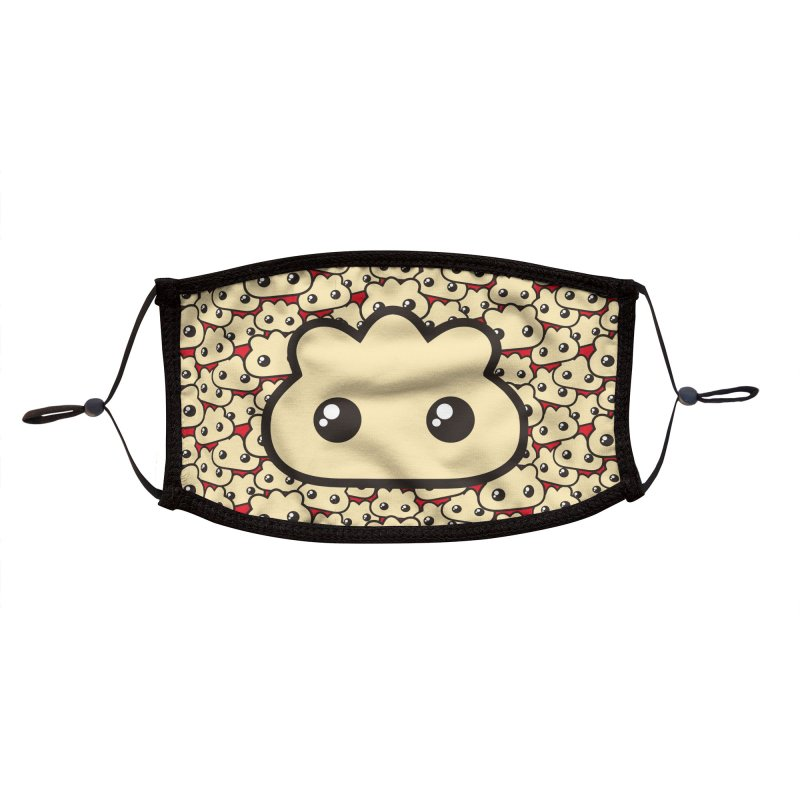 Dumplings! Accessories Face Mask by Shawnimals