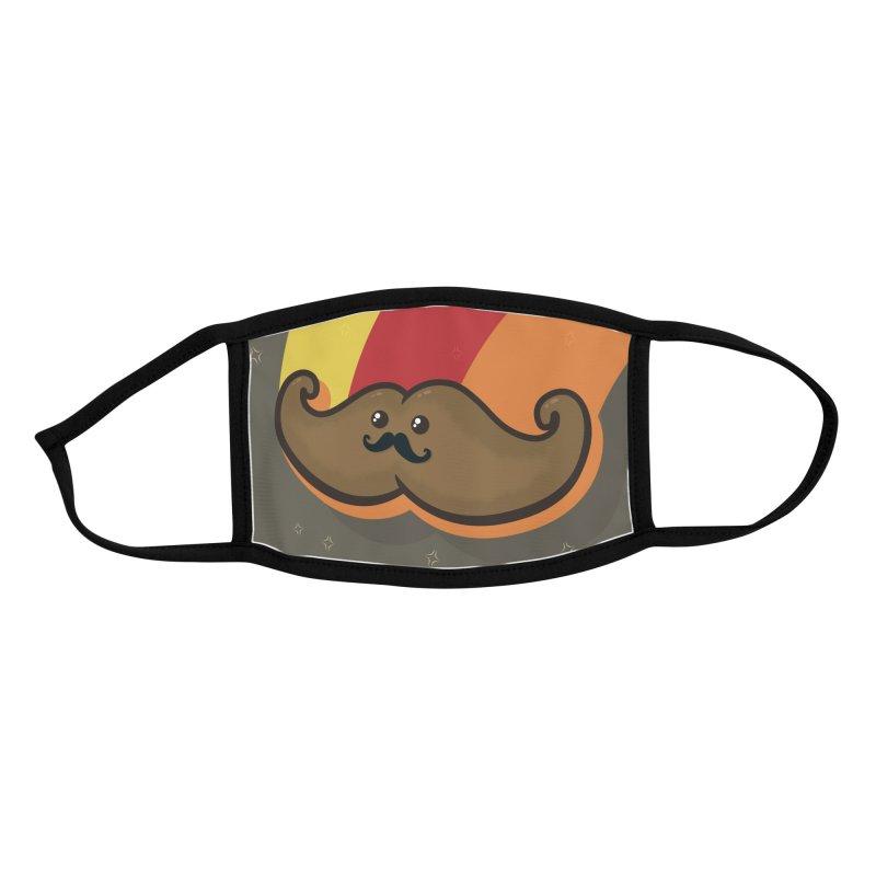 Mucho Macho Moustachio Masko Accessories Face Mask by Shawnimals