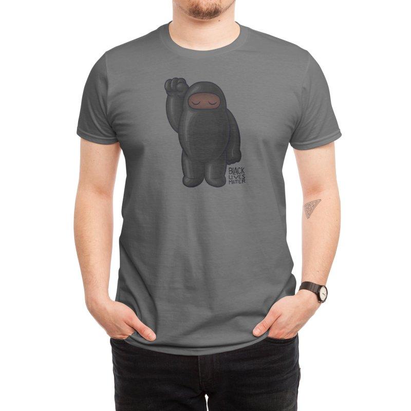 Black Lives Matter Men's T-Shirt by Shawnimals