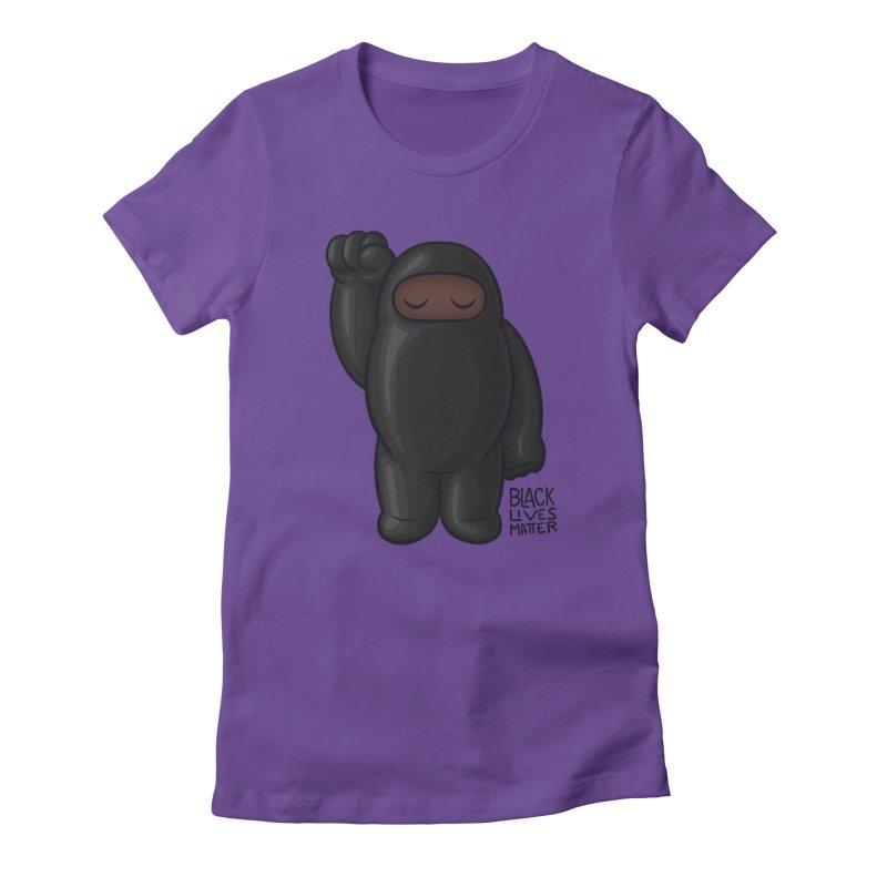 Black Lives Matter Women's T-Shirt by Shawnimals