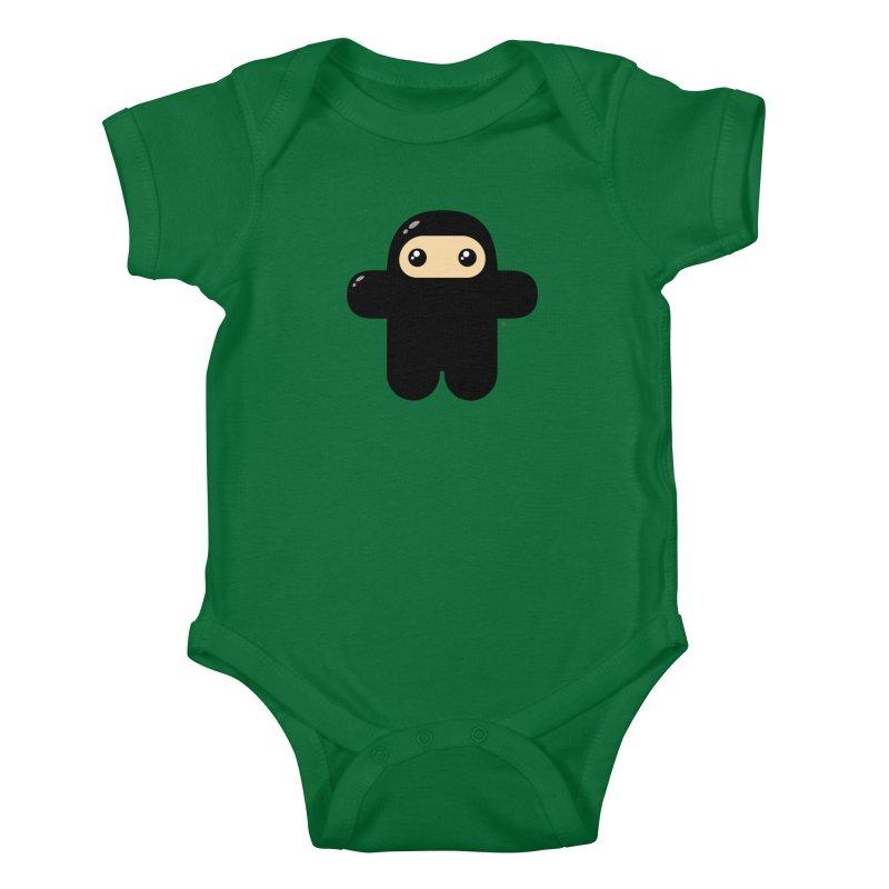 Original Wee Ninja Kiddos Baby Bodysuit by Shawnimals