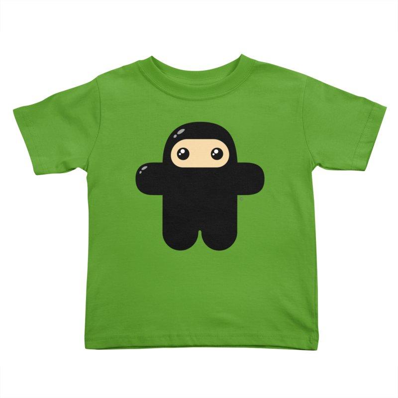 Original Wee Ninja Kiddos Toddler T-Shirt by Shawnimals