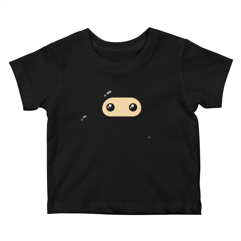 Original Wee Ninja Kiddos Baby T-Shirt by Shawnimals