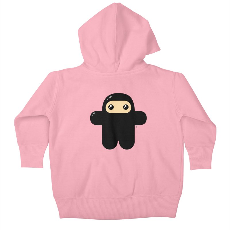Original Wee Ninja Kiddos Baby Zip-Up Hoody by Shawnimals
