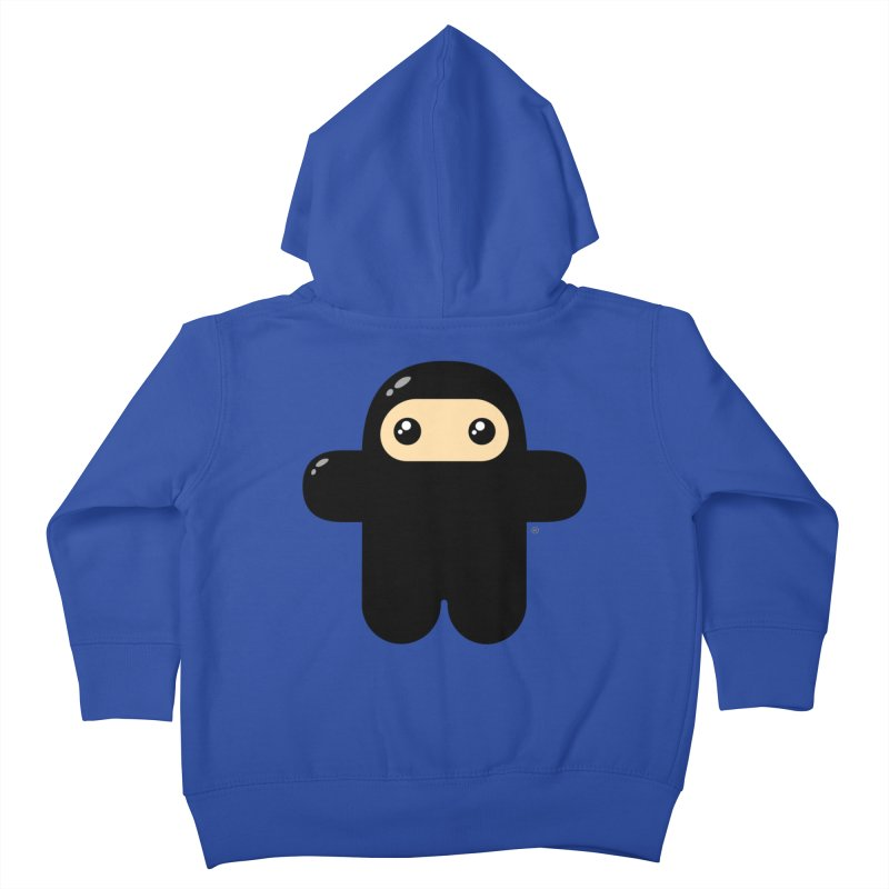 Original Wee Ninja Kiddos Toddler Zip-Up Hoody by Shawnimals