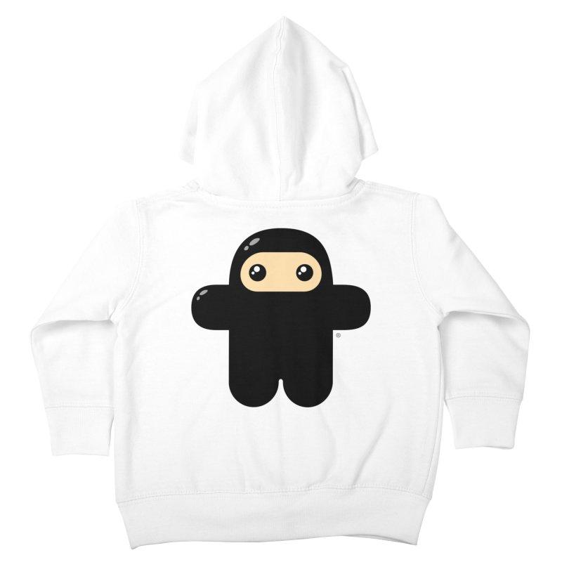 Original Wee Ninja Kiddos Toddler Zip-Up Hoody by Shawnimals