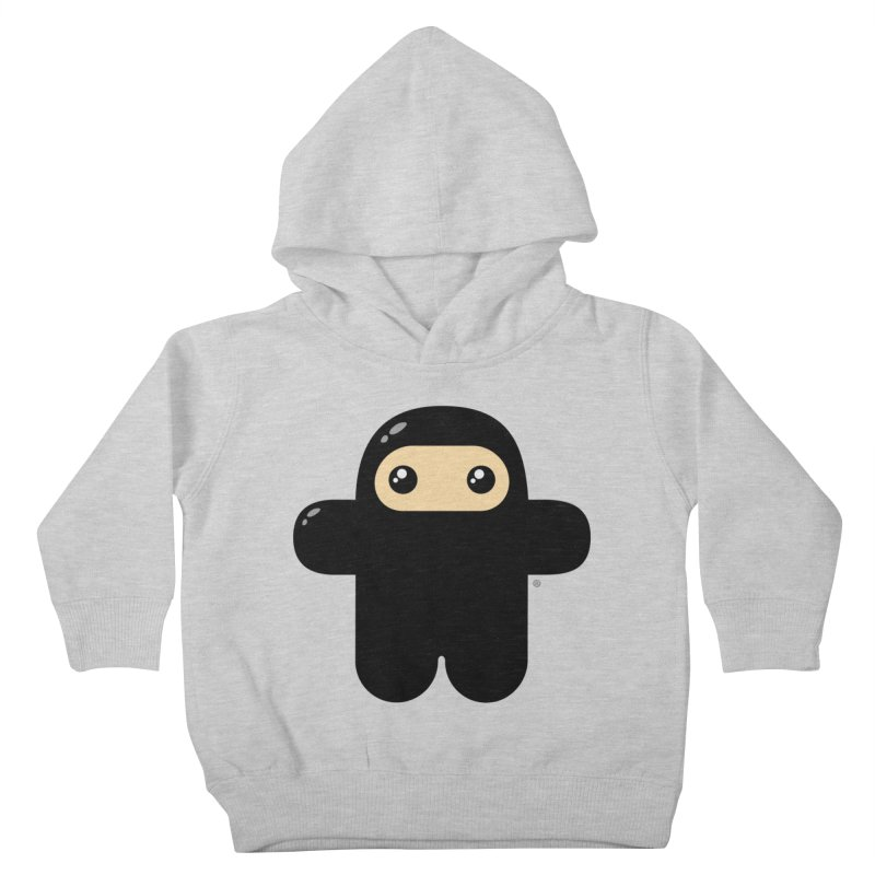 Original Wee Ninja Kiddos Toddler Pullover Hoody by Shawnimals