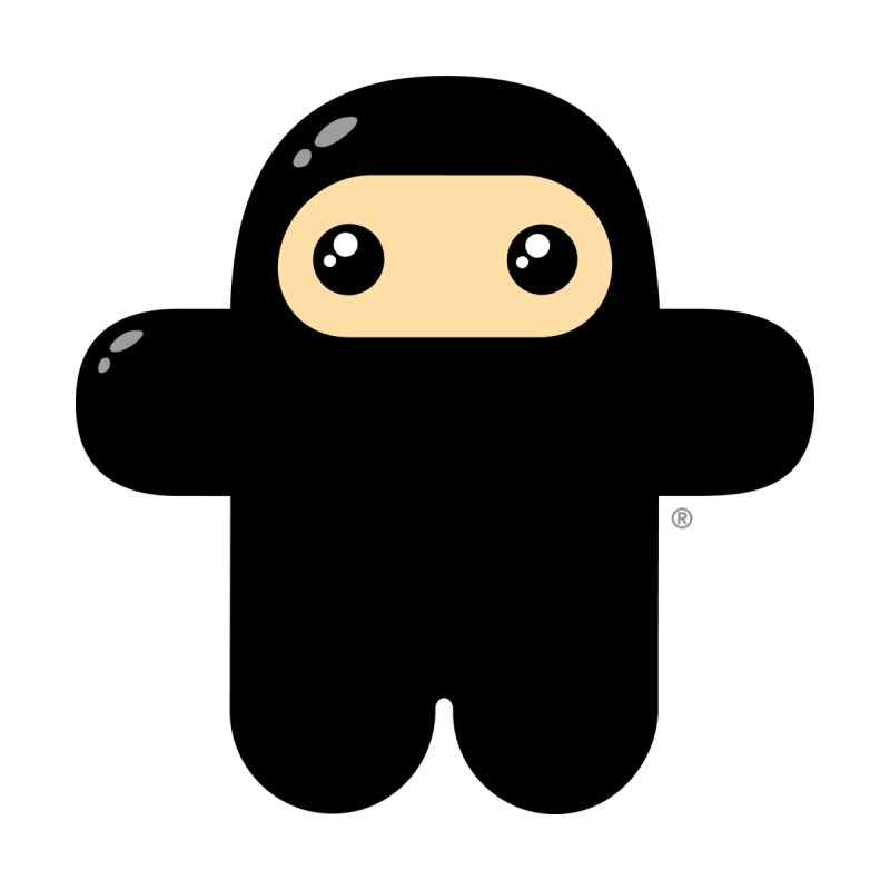 Wee Ninja (front crest) Masculine T-Shirt by Shawnimals