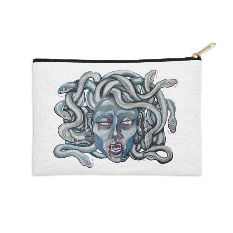 Stone Cold Accessories Zip Pouch by Shay MacMorran's Artist Shop