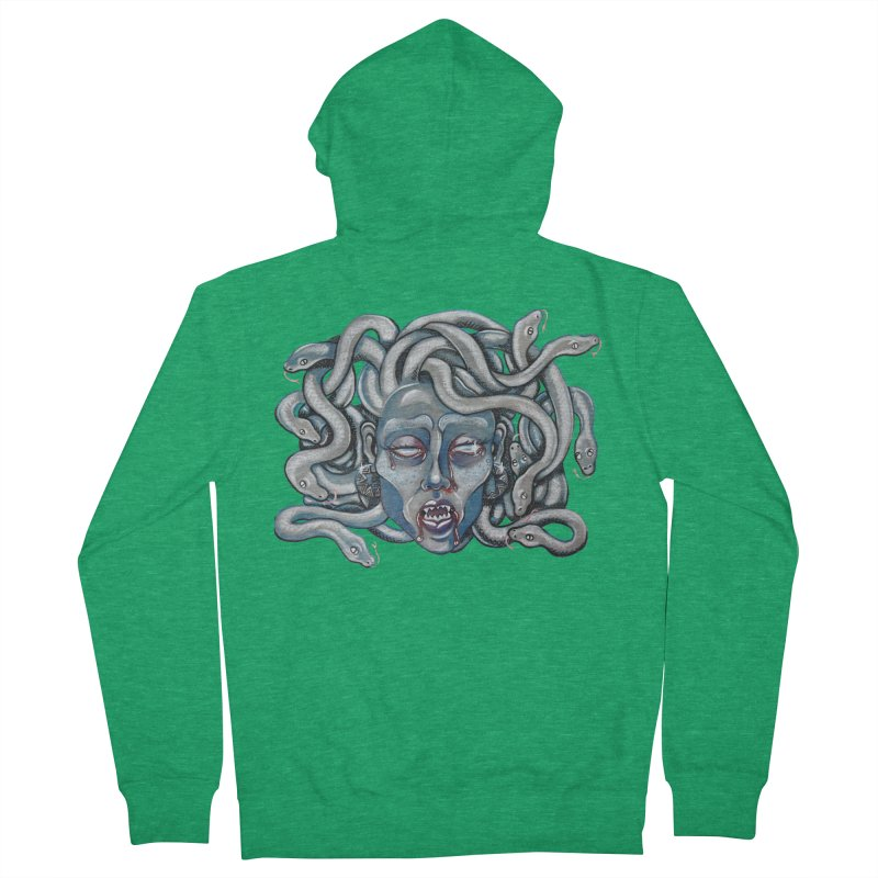 Stone Cold Women's Zip-Up Hoody by Shay MacMorran's Artist Shop