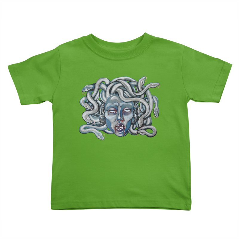 Stone Cold Kids Toddler T-Shirt by Shay MacMorran's Artist Shop
