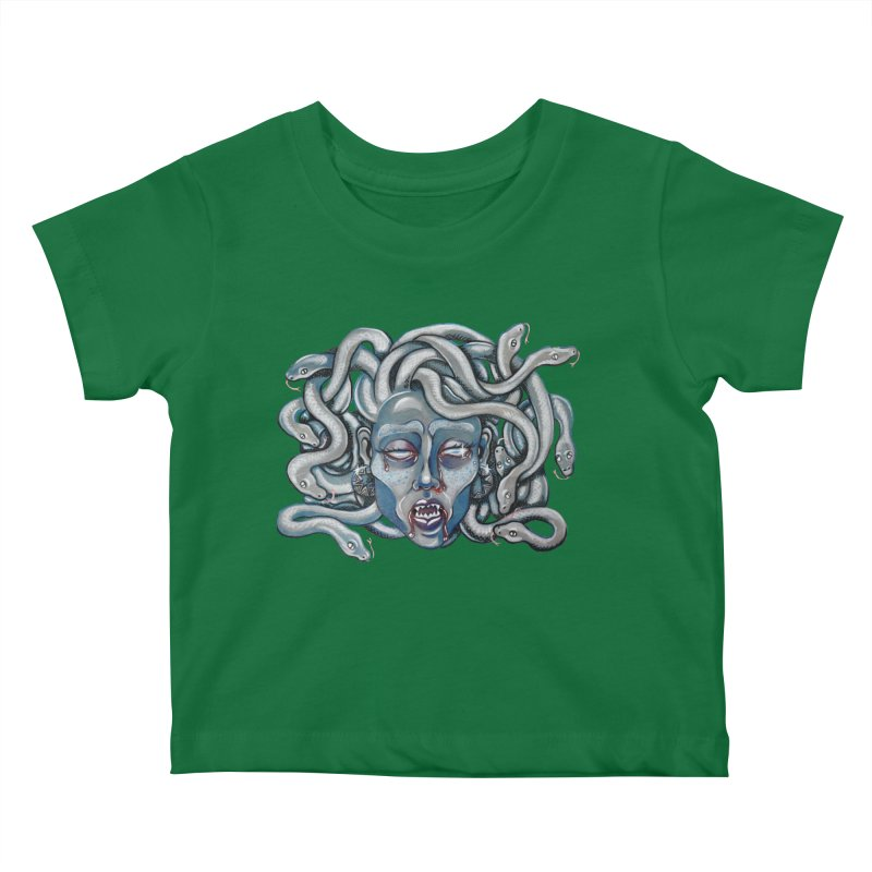 Stone Cold Kids Baby T-Shirt by Shay MacMorran's Artist Shop
