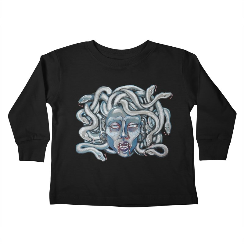 Stone Cold Kids Toddler Longsleeve T-Shirt by Shay MacMorran's Artist Shop