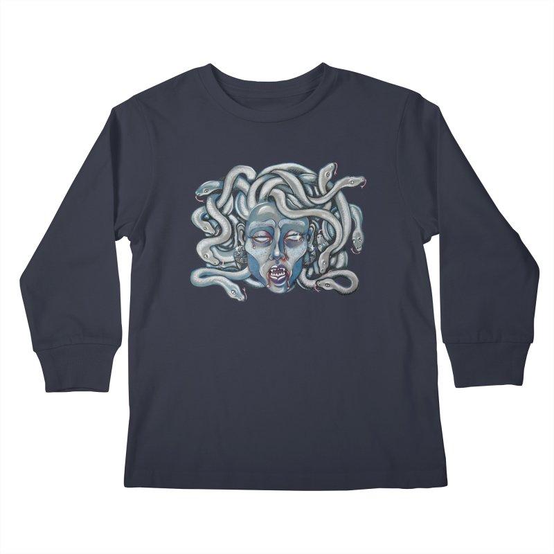 Stone Cold Kids Longsleeve T-Shirt by Shay MacMorran's Artist Shop