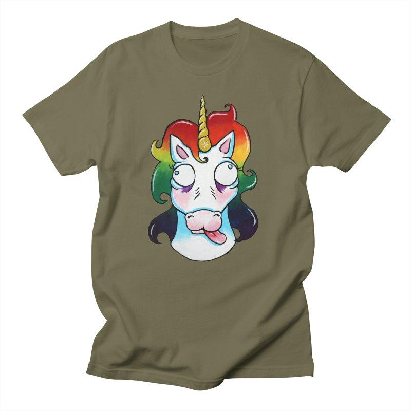 Gooficorn Men's T-Shirt by Shay MacMorran's Artist Shop