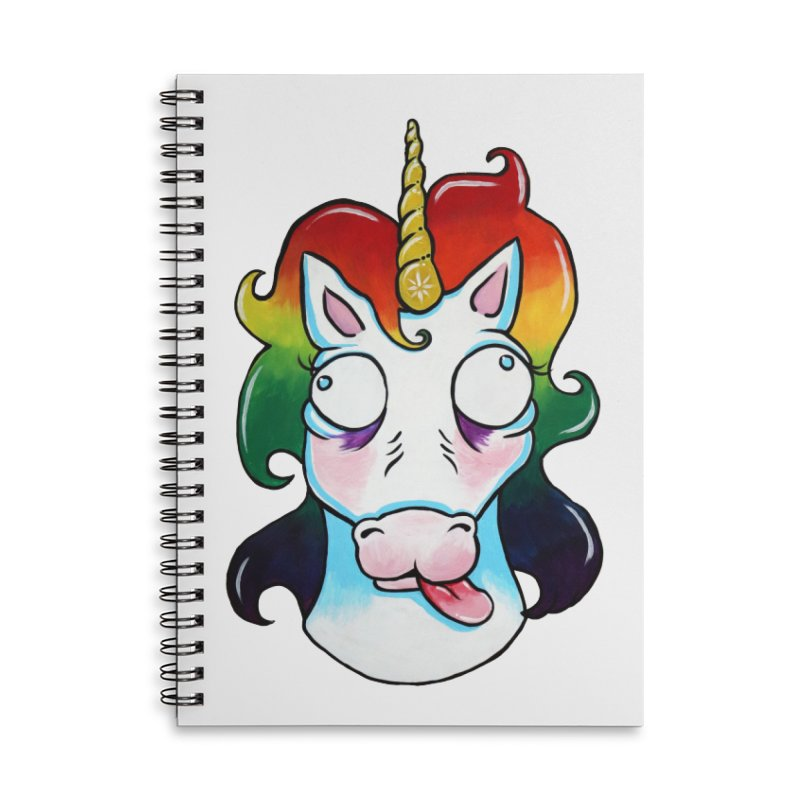 Gooficorn Accessories Notebook by Shay MacMorran's Artist Shop