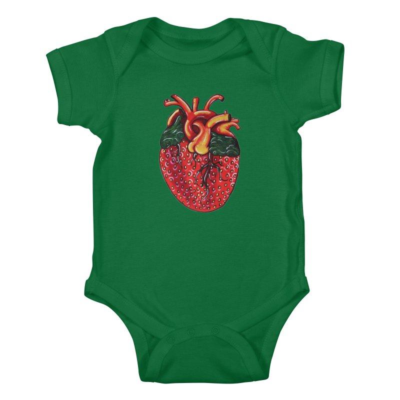 SweetHeart Kids Baby Bodysuit by Shay MacMorran's Artist Shop