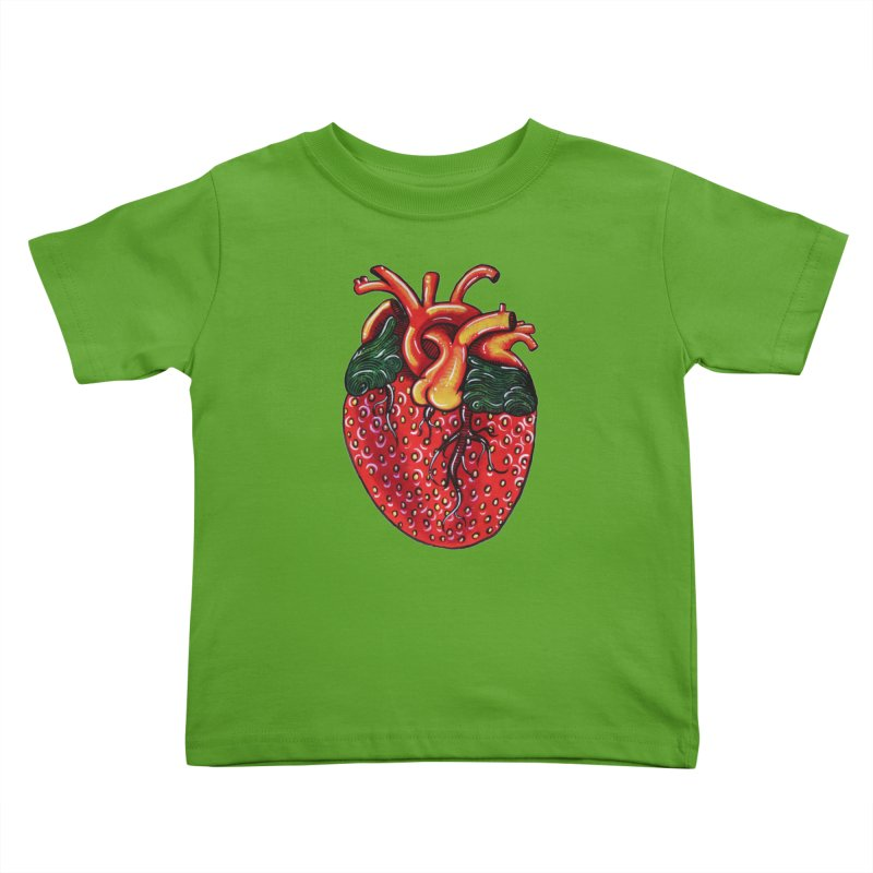 SweetHeart Kids Toddler T-Shirt by Shay MacMorran's Artist Shop