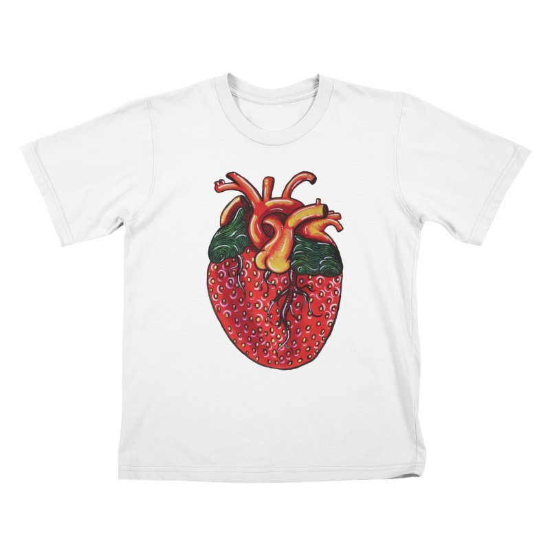 SweetHeart Kids T-Shirt by Shay MacMorran's Artist Shop