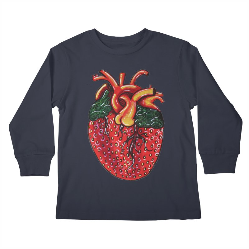 SweetHeart Kids Longsleeve T-Shirt by Shay MacMorran's Artist Shop