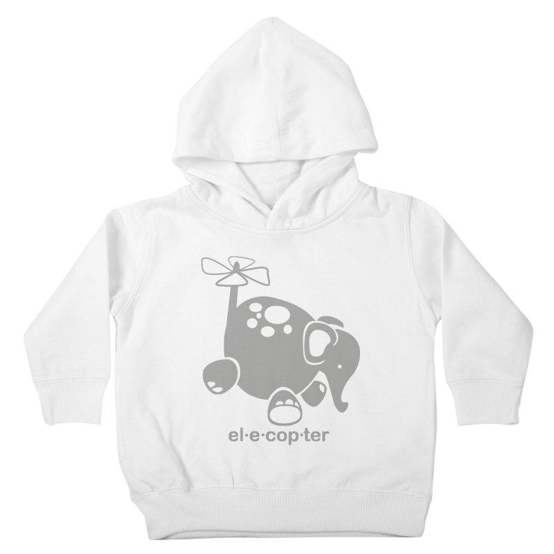 El-e-cop-ter Kids Toddler Pullover Hoody by ShayneArt's Artist Shop