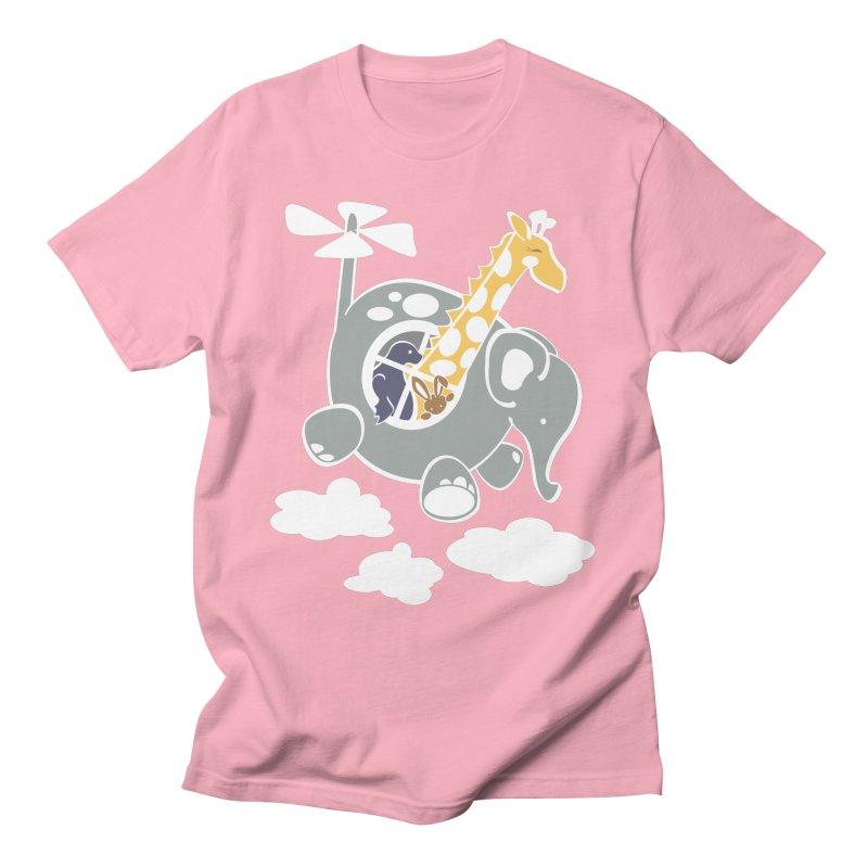 Elecopter Ride Men's T-Shirt by ShayneArt's Artist Shop