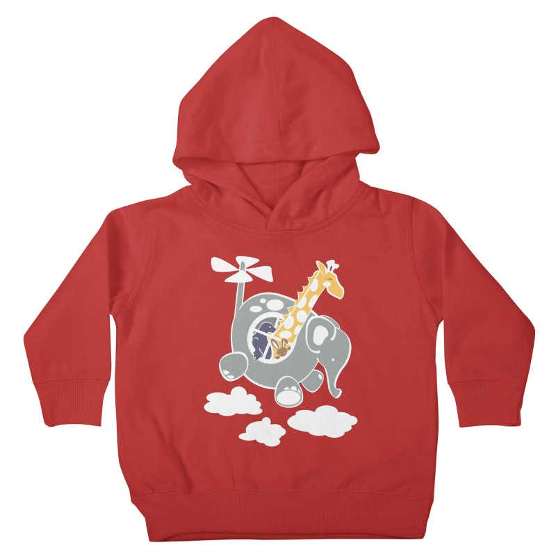 Elecopter Ride Kids Toddler Pullover Hoody by ShayneArt's Artist Shop
