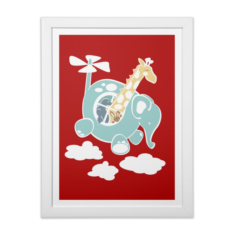 Elecopter Ride Home Framed Fine Art Print by ShayneArt's Artist Shop