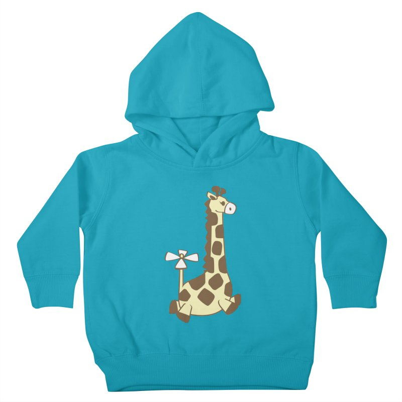 Flying Giraffe Friend Kids Toddler Pullover Hoody by ShayneArt's Artist Shop
