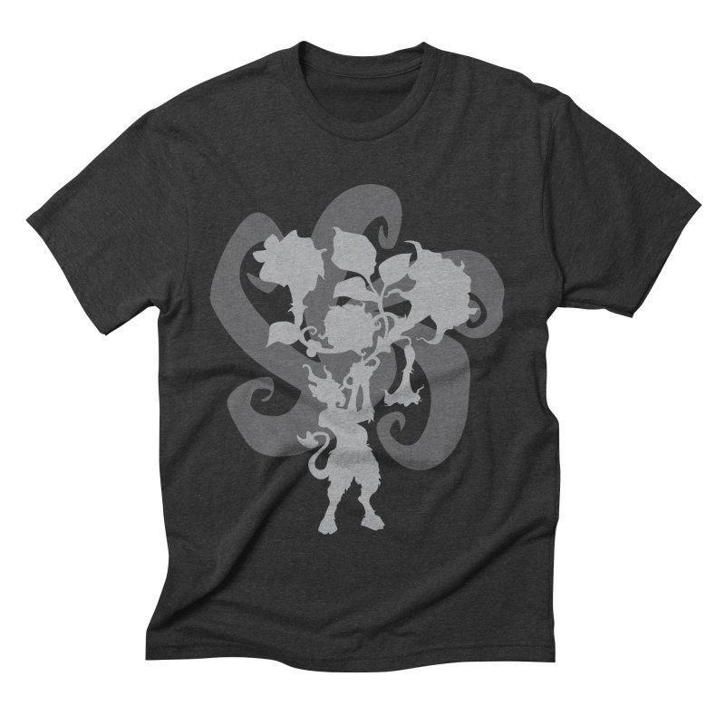 The Devil's Trumpet in Men's Triblend T-shirt Heather Onyx by ShayneArt's Artist Shop