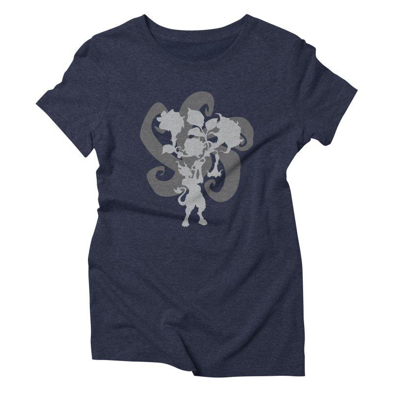 The Devil's Trumpet Women's Triblend T-Shirt by ShayneArt's Artist Shop