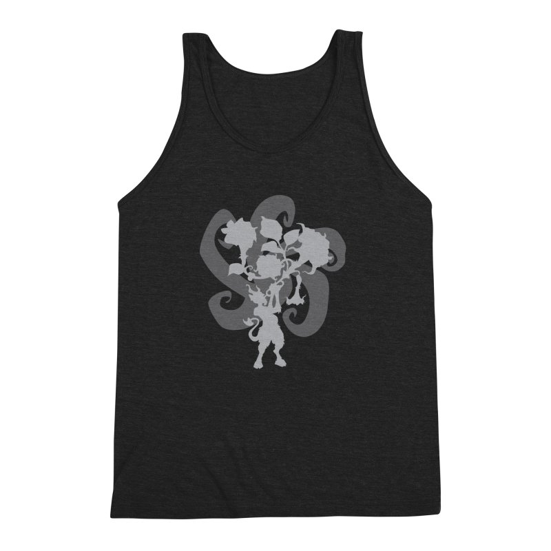 The Devil's Trumpet Men's Triblend Tank by ShayneArt's Artist Shop