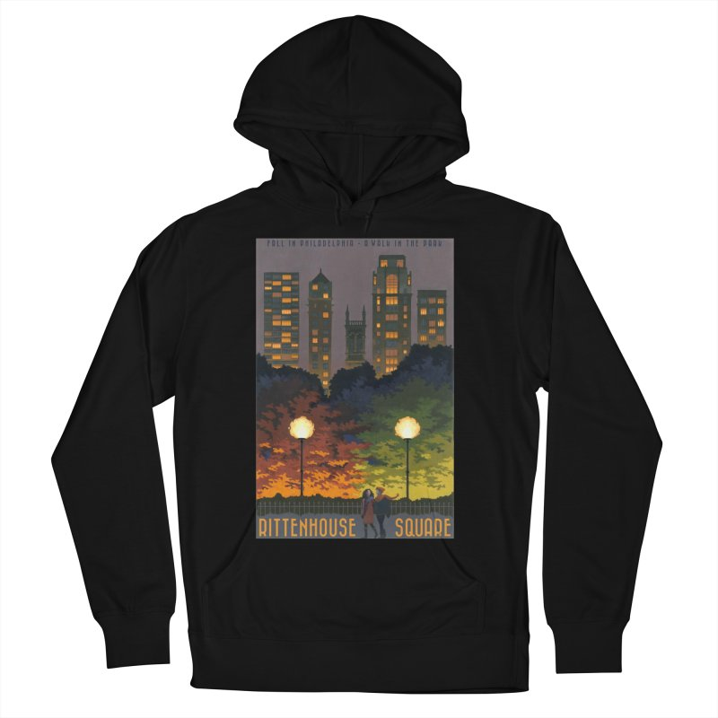 Rittenhouse Square is a Walk in the Park Men's Pullover Hoody by Sheaffer's Artist Shop