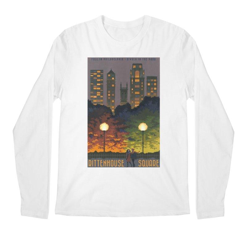 Rittenhouse Square is a Walk in the Park Men's Longsleeve T-Shirt by Sheaffer's Artist Shop